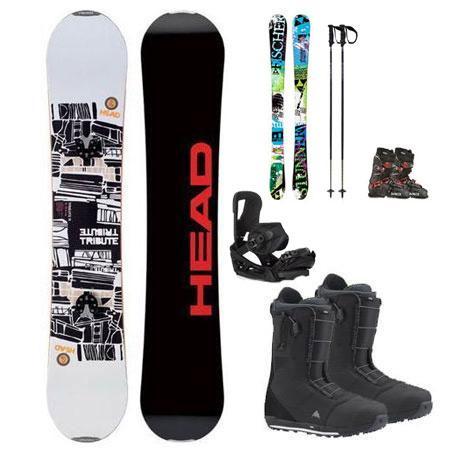 Snowboard Package (Downtown) w/FREE Kids Ski Package
